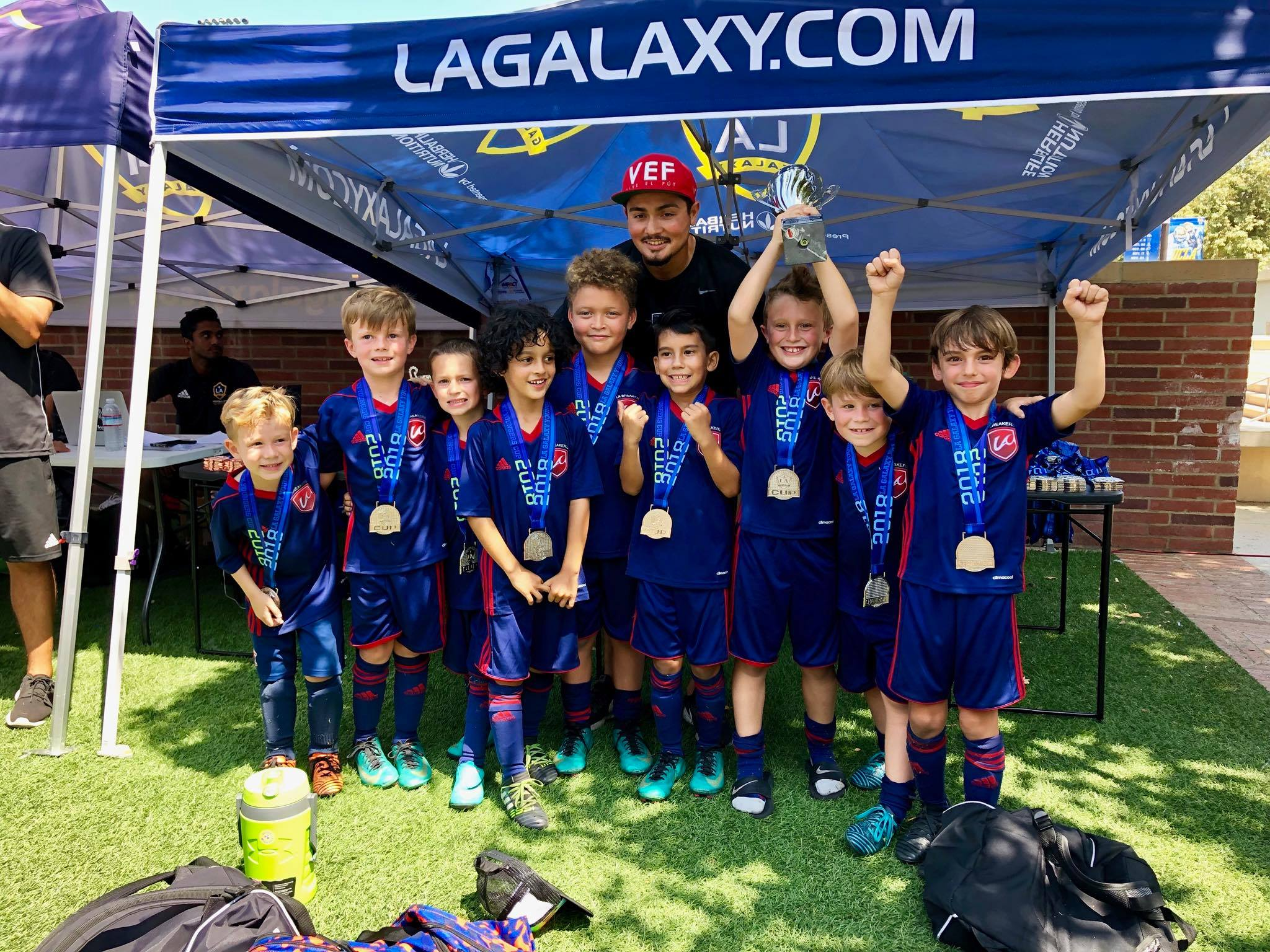 LA Breakers B2011 won the LA Galaxy Tournament!